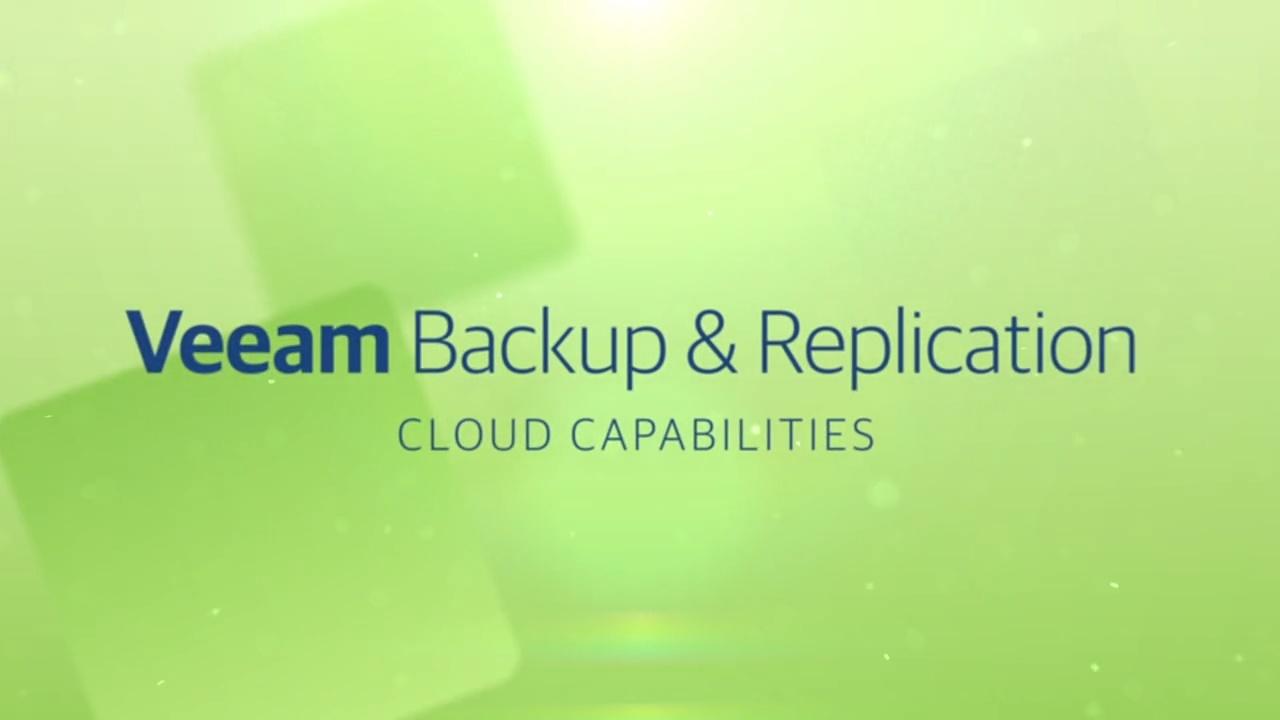Product launch v11 - VBR - Cloud Capability