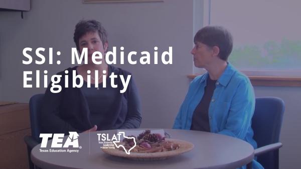 SSI: Medicaid Eligibility