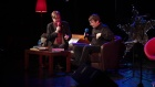 Ian Rankin live on stage at the Tower
