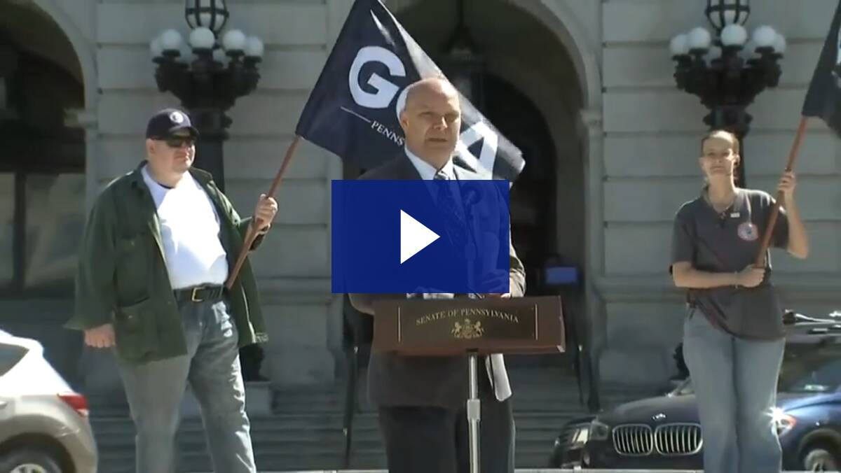 5/12/21 – News Conference: Right to Bear Arms Act (SB 624)