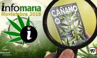 Noticias Cannábicas de la revista Cáñamo. Infomaría noviembre 2018