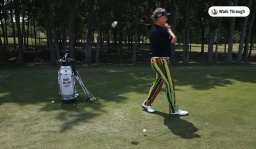 Drills: Walk Through Your Swing
