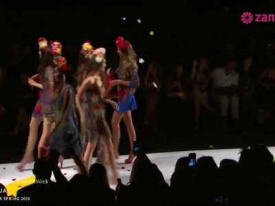 Défilé Desigual Printemps Eté 2015 : Fashion Week de New York
