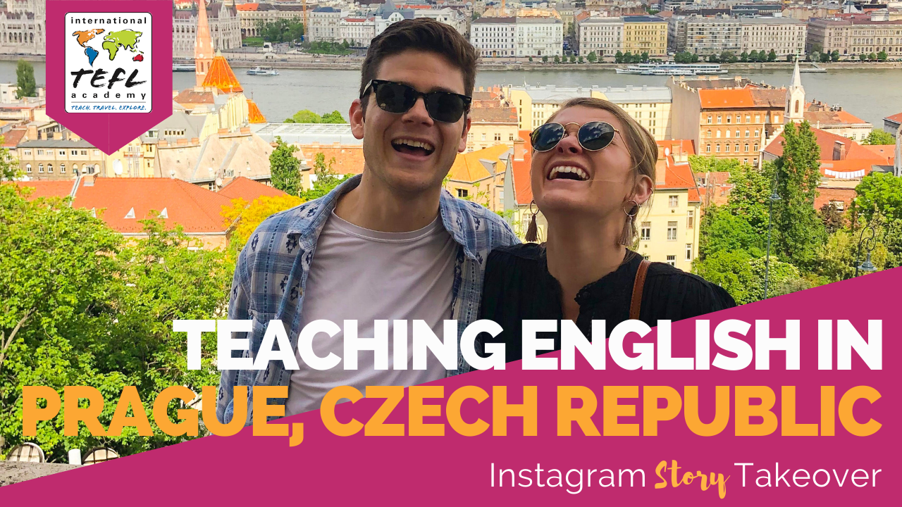 Day in the Life Teaching English in Prague, Czech Republic with Chris & Shelby