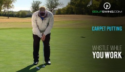Whistle While You Work: Carpet Putting
