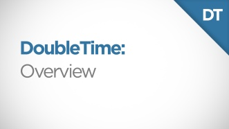 DoubleTime Overview Video Thumbnail