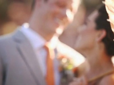 Inspiração: um casamento tangerine tango