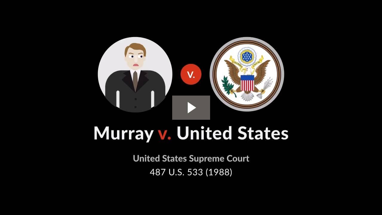Murray v. United States