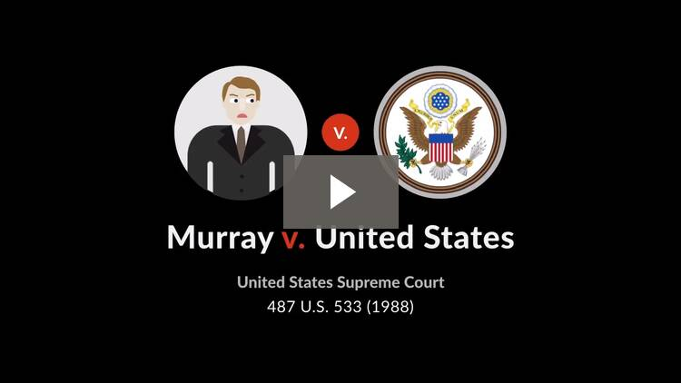 Murray v. United States