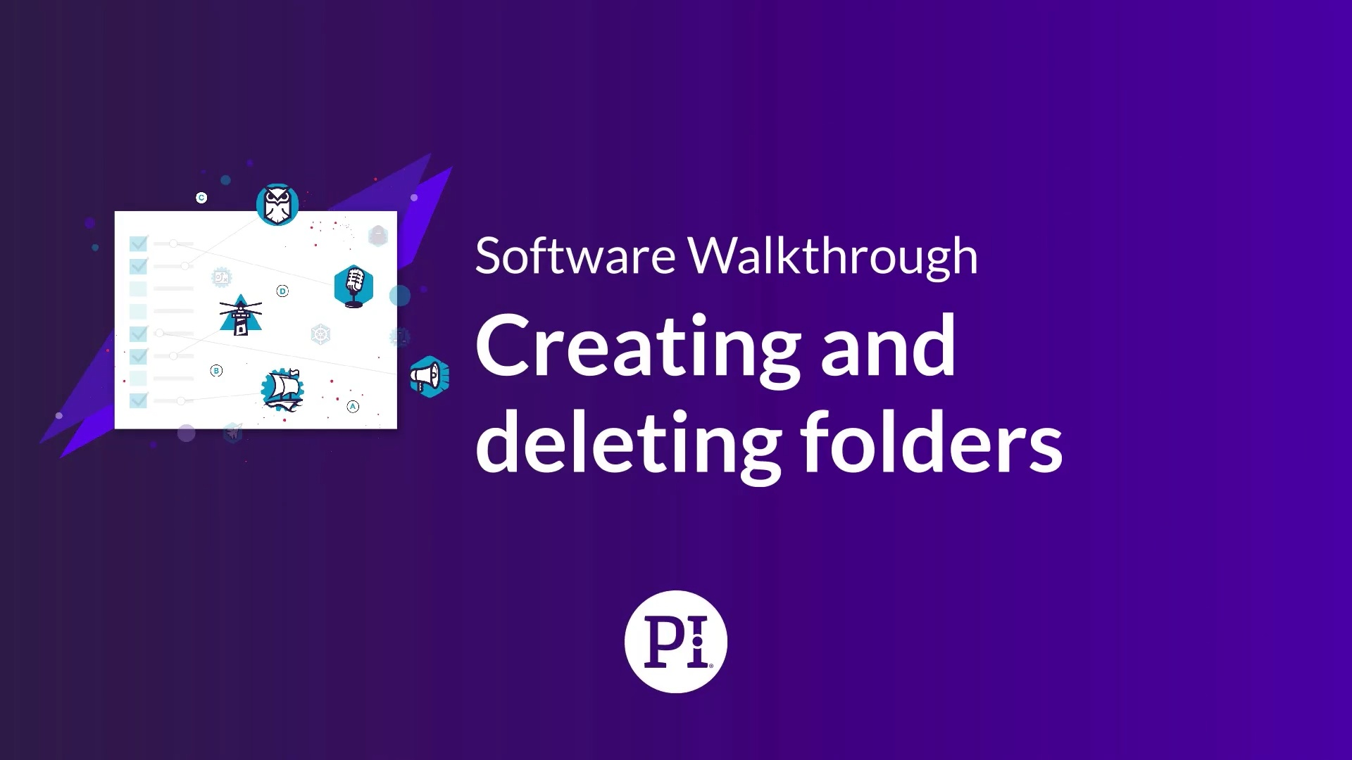 Creating and Deleting Folders