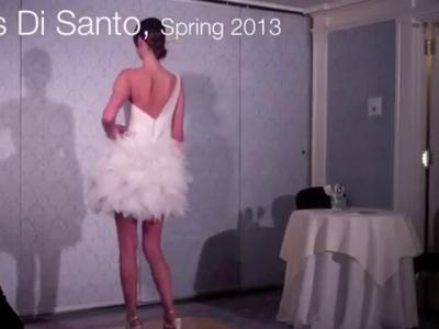 Disfruta las colecciones 2013 para novias de las pasarelas de New York
