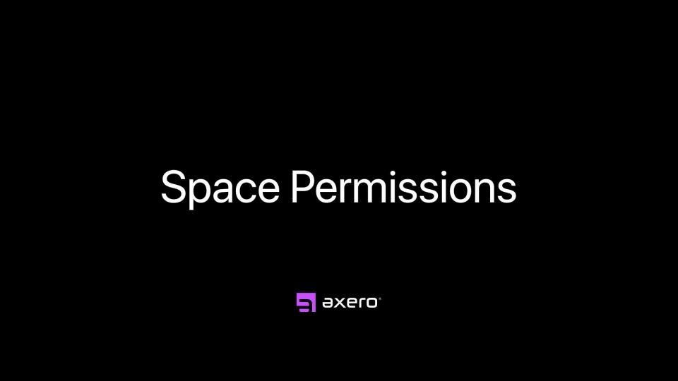 Space Permissions