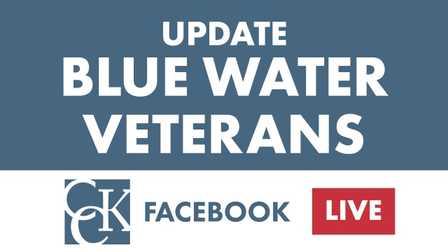 Blue Water Navy Veterans Update – June 2019