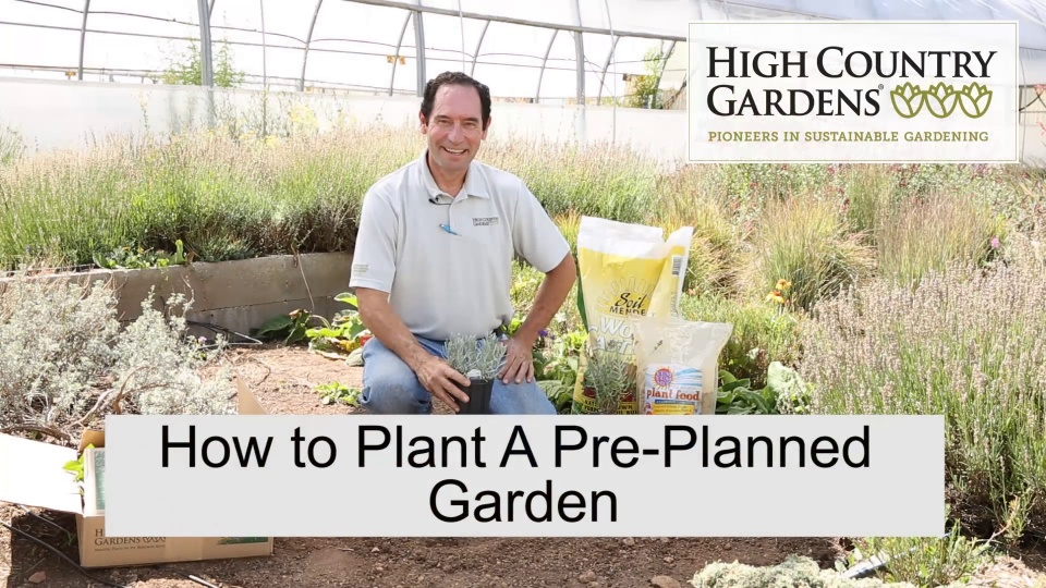 Pre-Planned Gardens And Collections | Garden Design | High Country