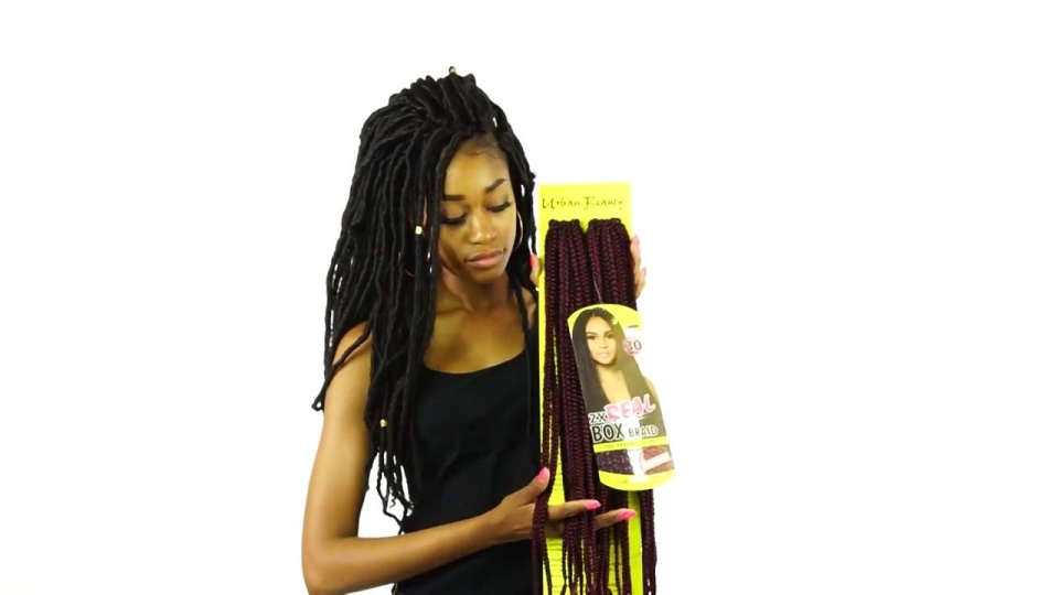 Urban Beauty Urban Beauty 2x Real Box Braid Curl 30 Ubcb30