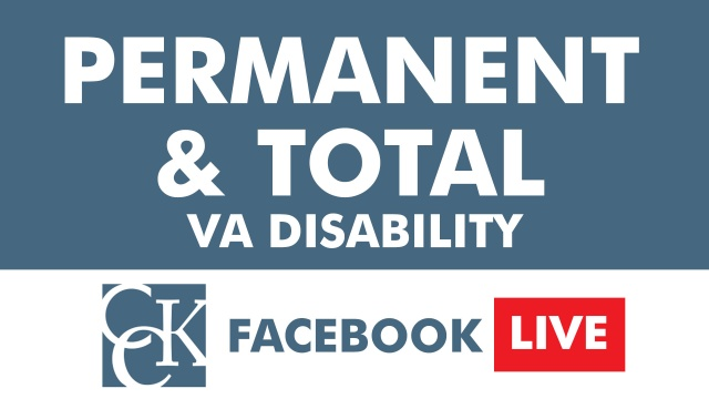 Permanent and Total VA Disability
