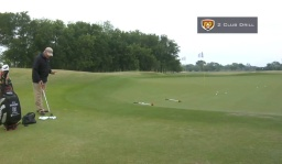 Breaking 100: Chipping 2 Club Drill