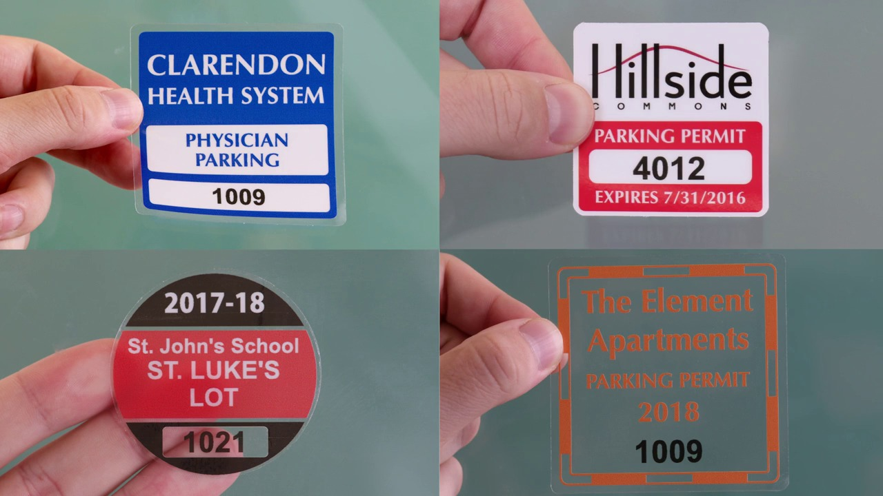 photograph relating to Printable Static Cling Labels named StaticCling vs WindowCling