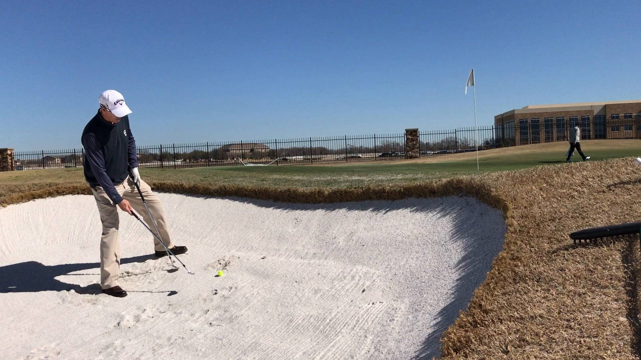 Hit An Uphill Bunker Shot Flush Every Time