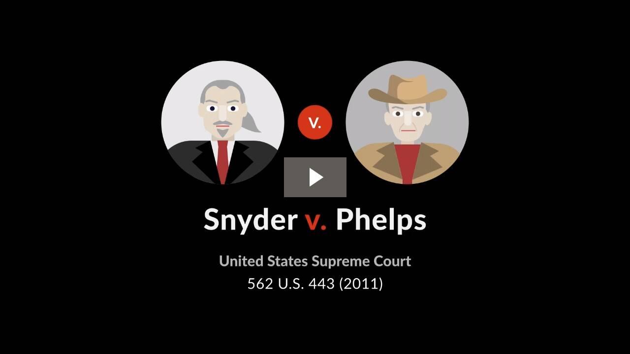 Snyder v. Phelps