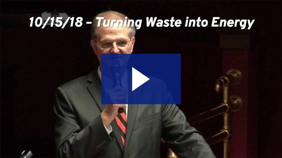 10/15/18 – Turning Waste into Energy