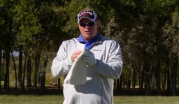 Distance Control: 120 Yards and In: Towel Drill