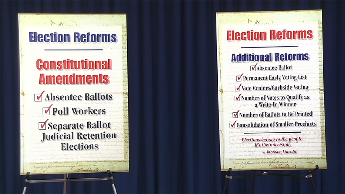 1/29/19 – News Conference: Election Reform