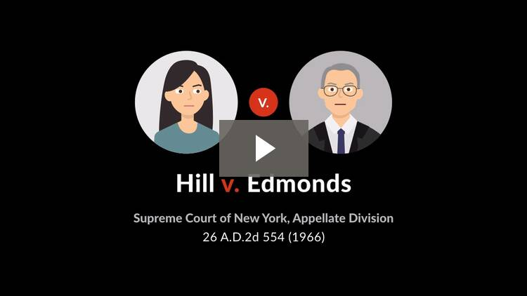 Hill v. Edmonds