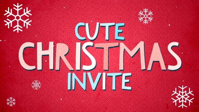 cute christmas invite videos the skit guys