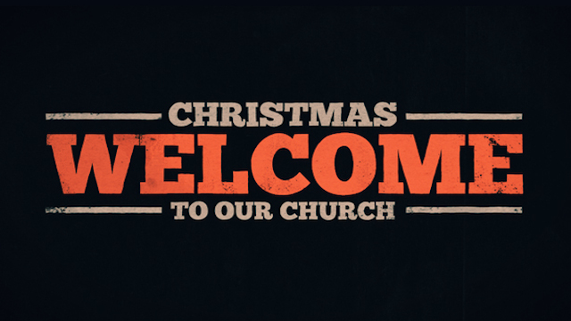 Christmas - Welcome To Our Church Video « The Skit Guys