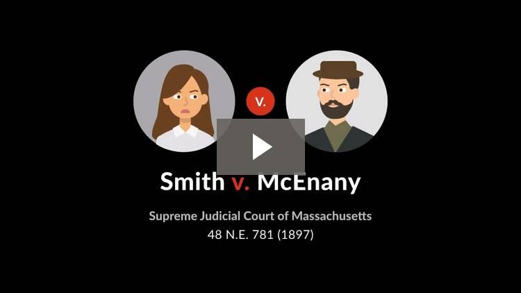 Smith v. McEnany