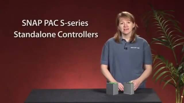 SNAP PAC S Series Controllers - OptoMinute