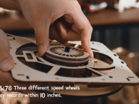 Video: Robotime | DIY Vintage Record Player