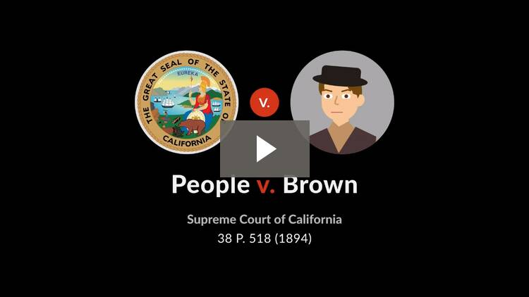People v. Brown