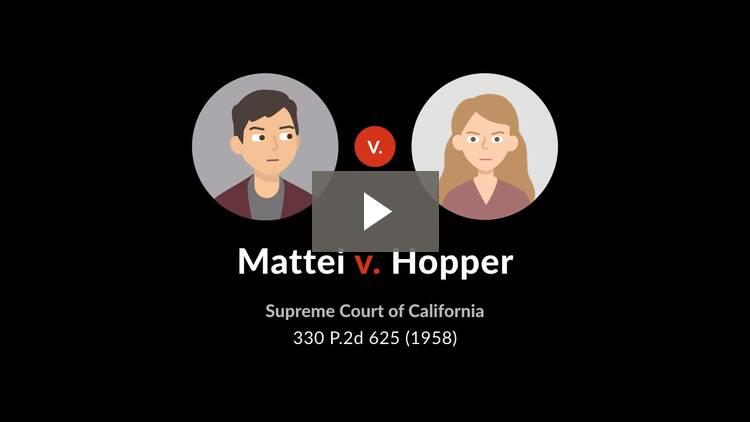 Mattei v. Hopper