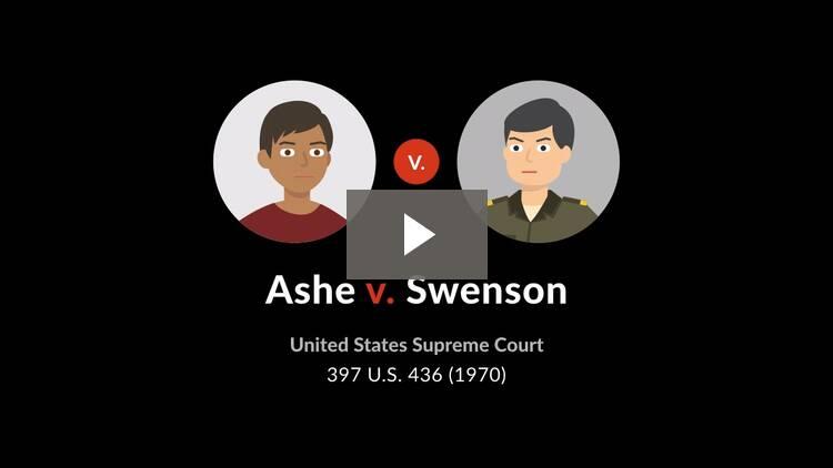 Ashe v. Swenson