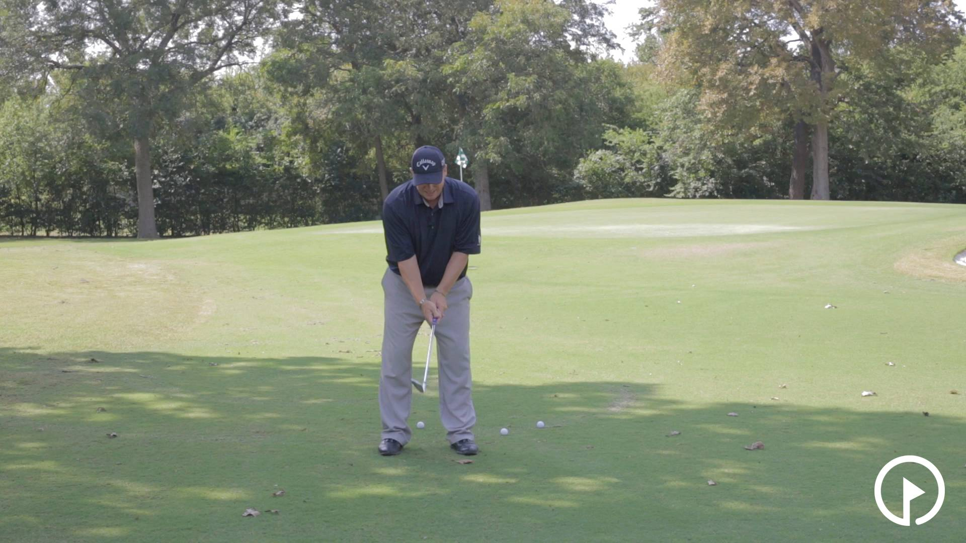 Simple Technique to Execute a Pitch Shot
