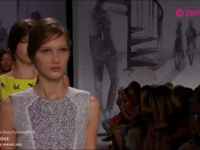 Lela Rose primavera 2015: Vestidos de fiesta que te ayudarán a diseñar el estilismo perfecto... ¡Wow!