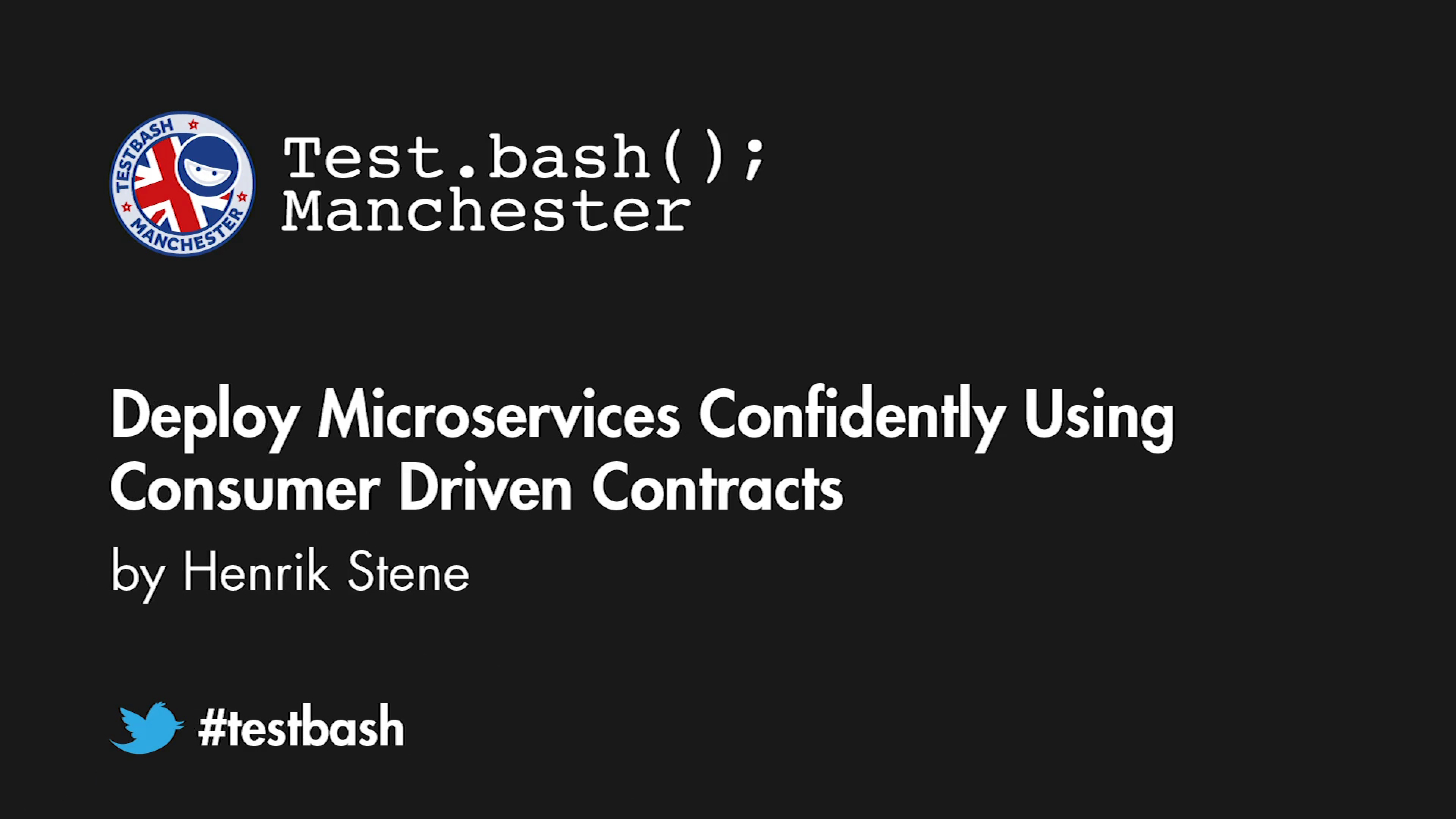 Deploy Microservices Confidently Using Consumer Driven Contracts - Henrik Stene
