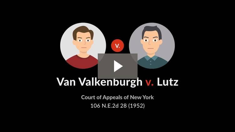 Van Valkenburgh v. Lutz