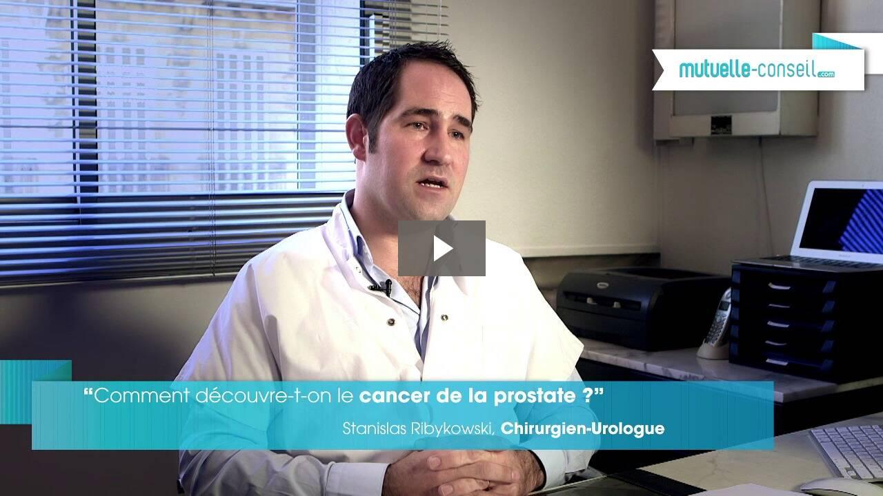 Comment découvre-t-on le cancer de la prostate ?