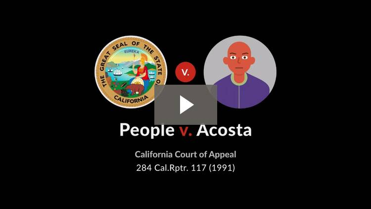 People v. Acosta