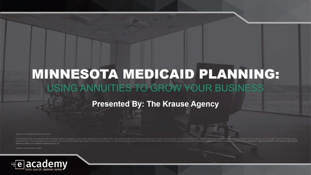 Minnesota Medicaid Planning: Using Annuities to Grow Your Business