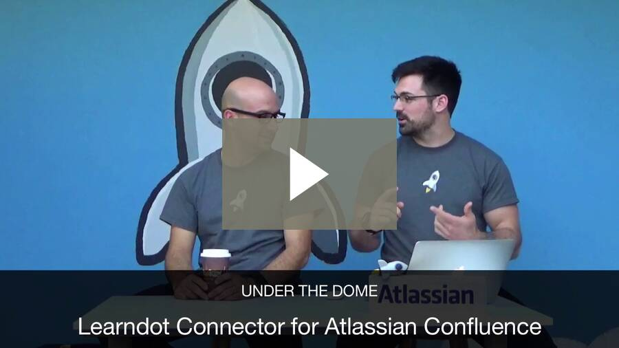 Learndot Connector for Atlassian Confluence