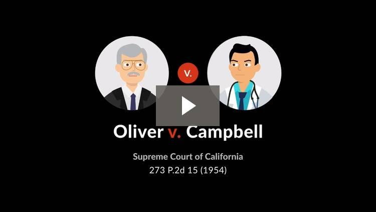 Oliver v. Campbell