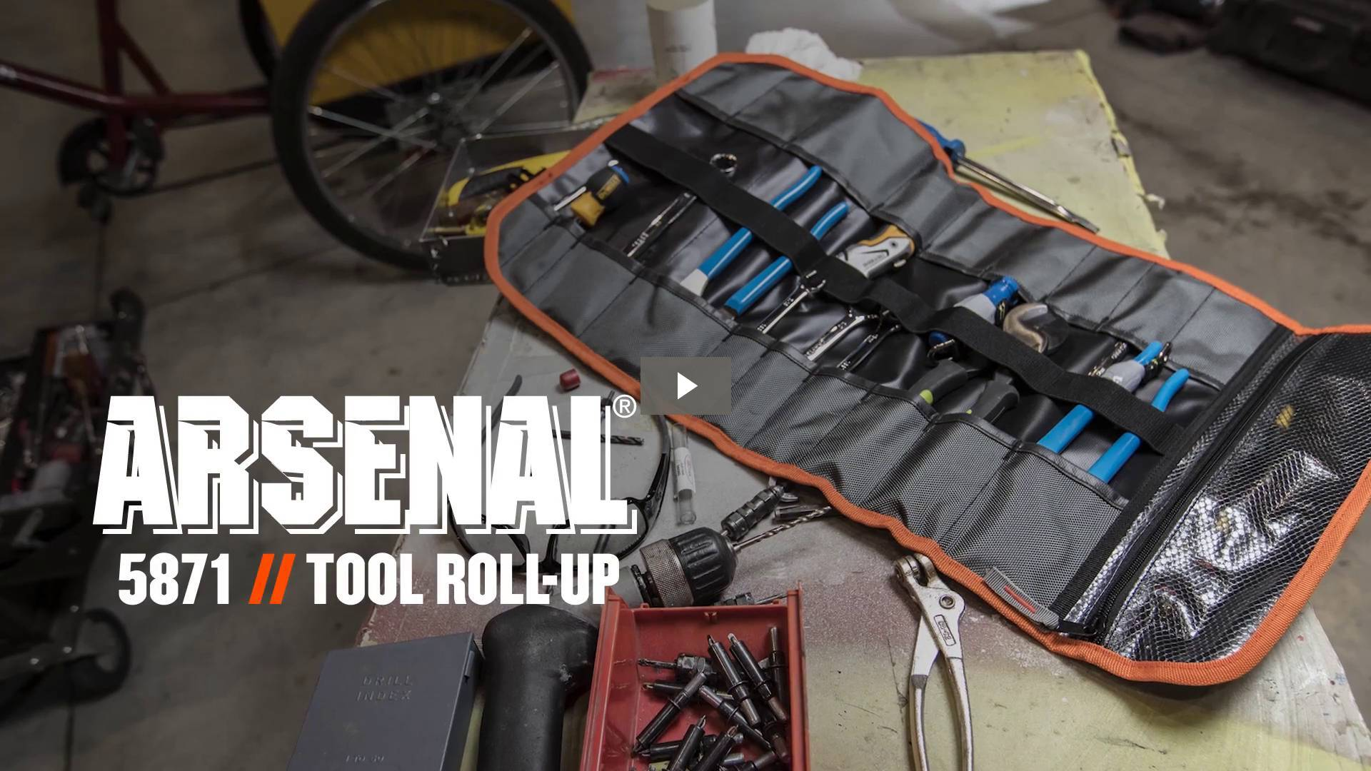 Ergodyne Product Video - Arsenal<sup>®</sup> 5871 Polyester Tool Roll Up