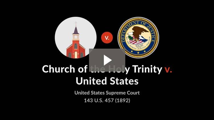 Church of the Holy Trinity v. United States
