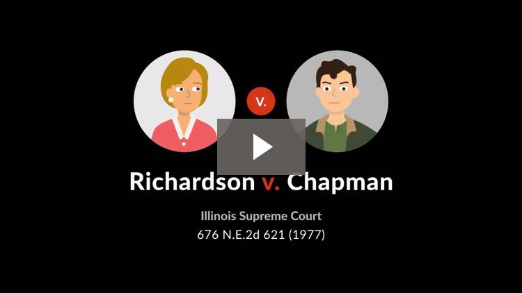 Richardson v. Chapman