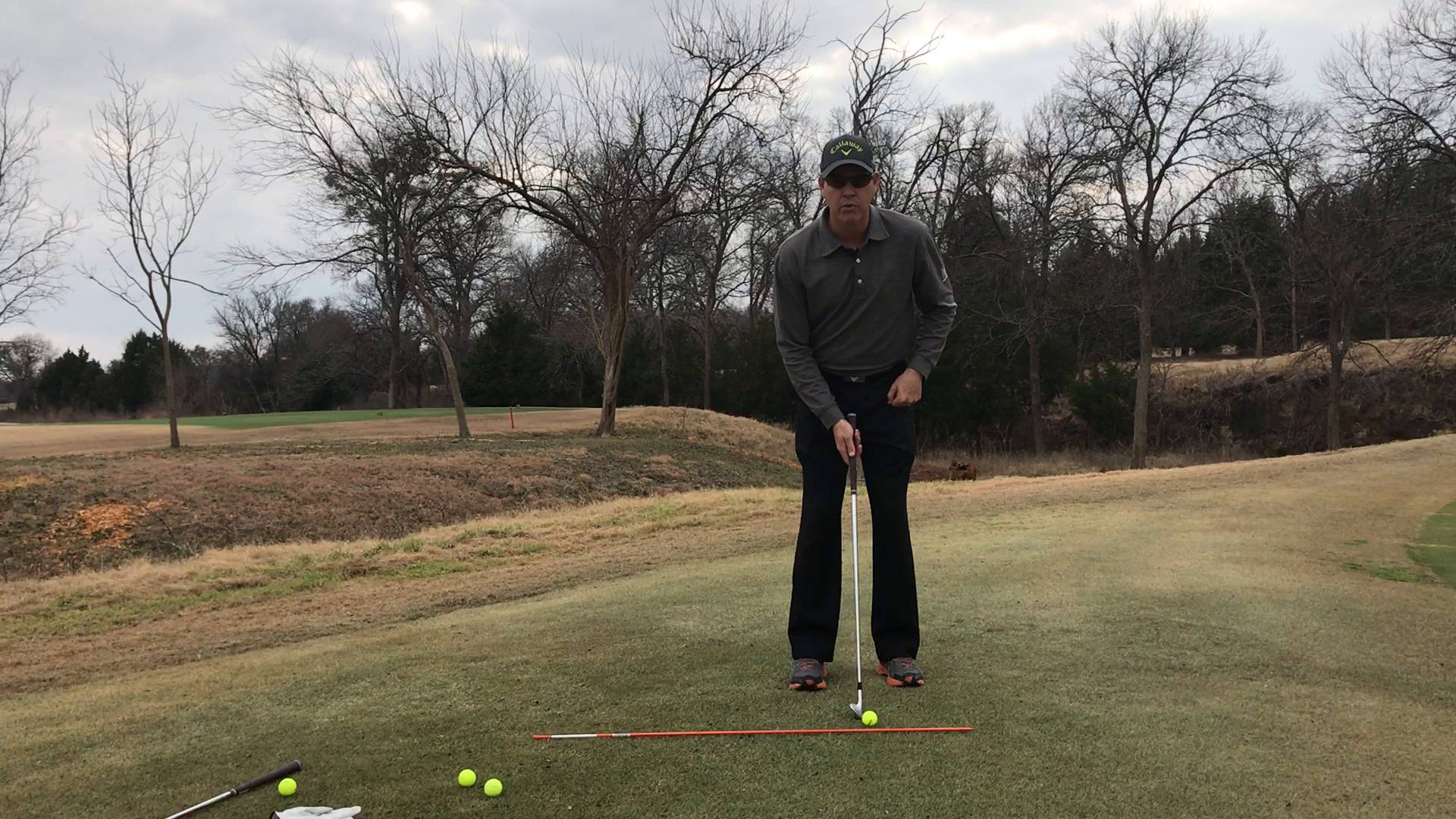 How to Putt with Loft Around the Green