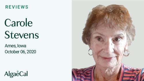 Testimonial thumbnail portrait of Carole Stevens